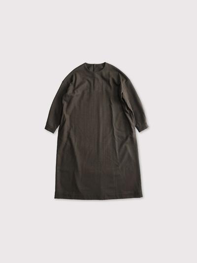 Back button boxy dress【SOLD】 1