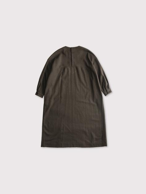 Back button boxy dress【SOLD】 2