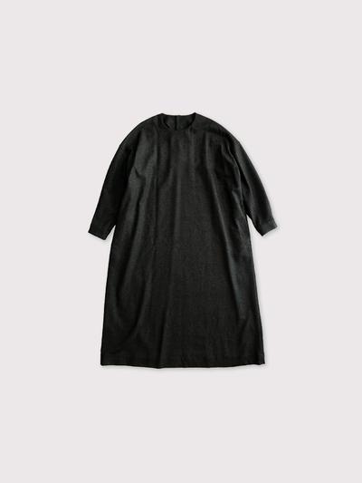 Back button boxy dress 【SOLD】 1