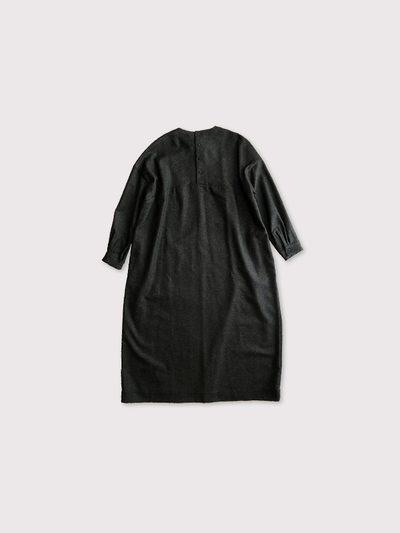 Back button boxy dress 【SOLD】 2