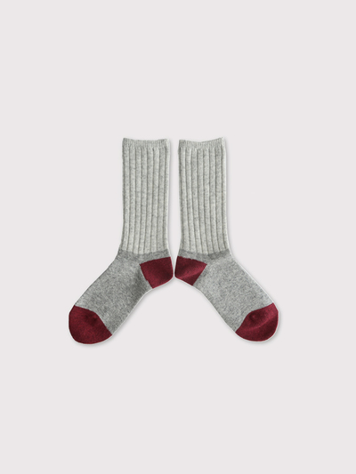 Rib combi socks 【SOLD】 3