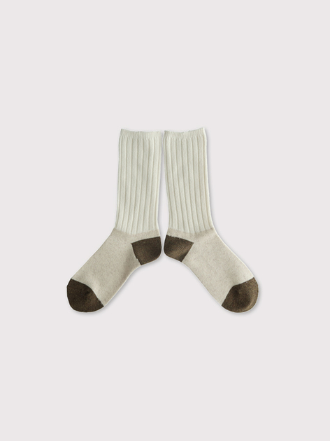 Rib combi socks 【SOLD】 2