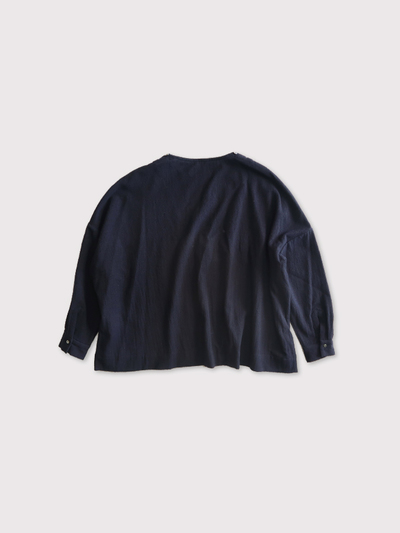 Shoulder button big slipon blouse【SOLD】 3