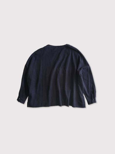 Shoulder button big slipon blouse【SOLD】 3