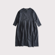 Tuck bottom dolman dress 【SOLD】