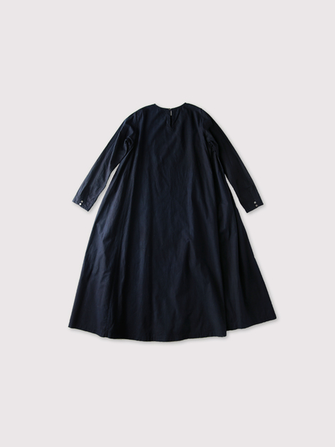 Side tuck trapeze dress【SOLD】 3
