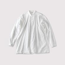 Edging gather shirt slim 【SOLD】
