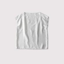 Boat neck slipon blouse【SOLD】