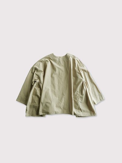 Front open side gather blouse【SOLD】 3