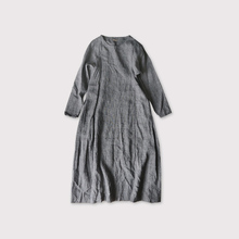 Side tuck tent line dress【SOLD】
