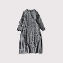 Side tuck tent line dress【SOLD】