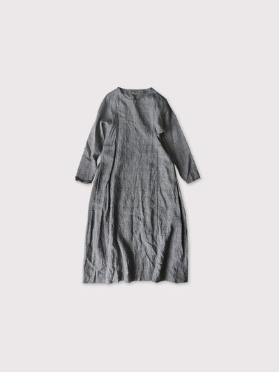 Side tuck tent line dress【SOLD】 1