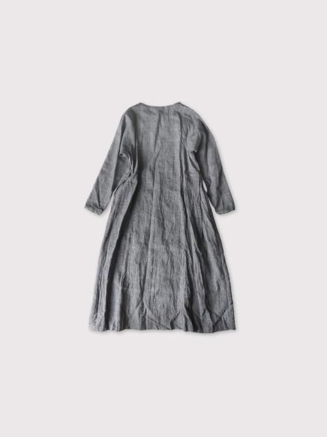 Side tuck tent line dress【SOLD】 2