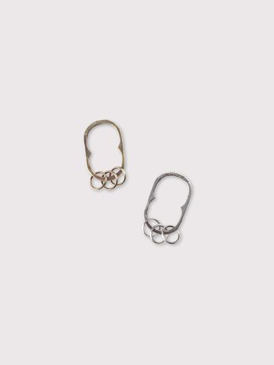Oval key holder【SOLD】 1