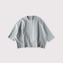 Shoulder button big slipon blouse【SOLD】