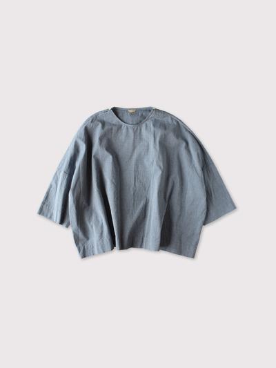 Shoulder button big slipon blouse 【SOLD】 1