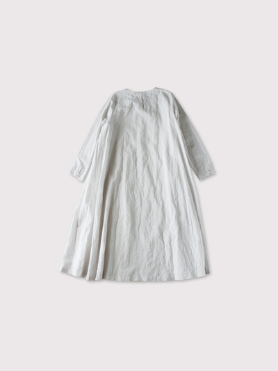 Side tuck trapeze dress 【SOLD】 2