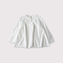 Side tuck slipon blouse 【SOLD】