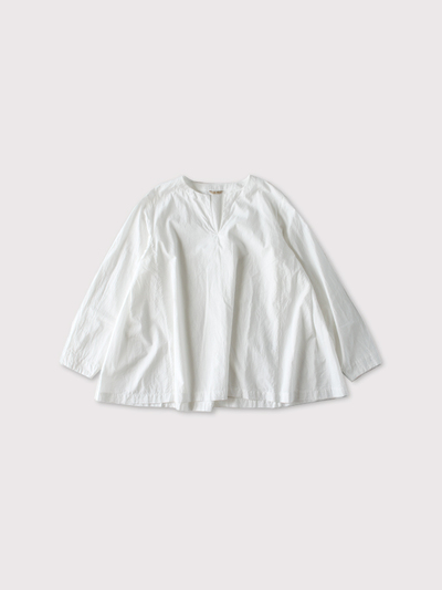 Side tuck slipon blouse 【SOLD】 1