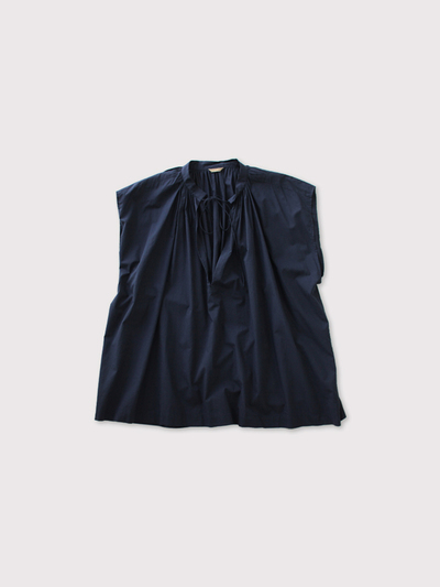 No sleeve string gather blouse【SOLD】 1
