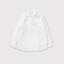 Mini collar front open tuck blouse 1