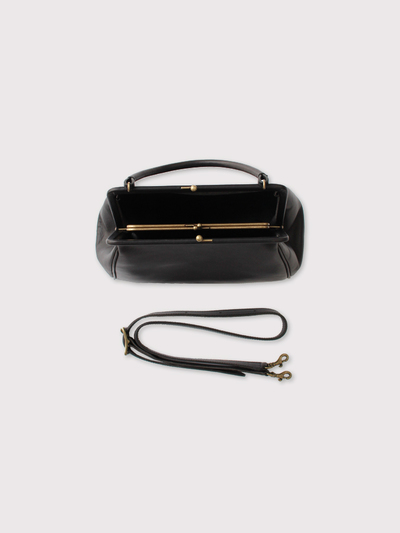 Double gamaguchi bag【SOLD】 3