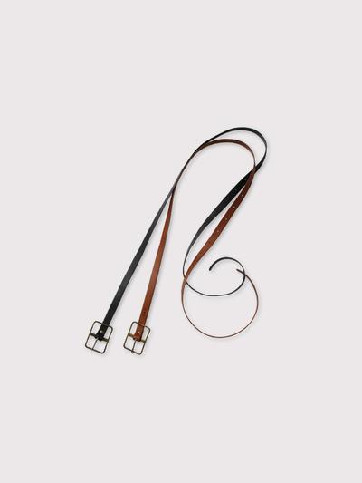 Thin buckle belt S 【SOLD】 2