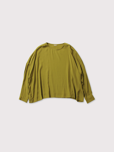 Shoulder button big slip-on blouse【SOLD】 1