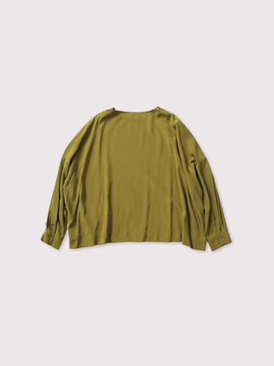 Shoulder button big slip-on blouse【SOLD】 3