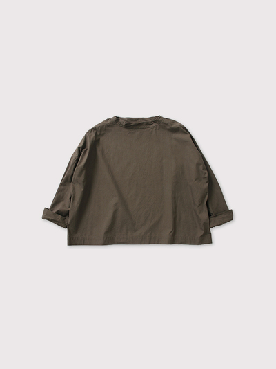 Stand collar box shirt OOP L/S 【SOLD】 1