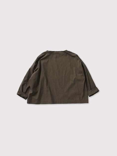 Stand collar box shirt OOP L/S 【SOLD】 3