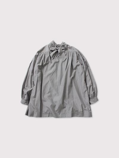 Back ribbon gather blouse 【SOLD】 3