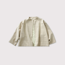 High neck flat jacket【SOLD】