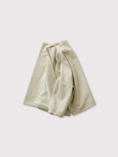 High neck flat jacket【SOLD】 2