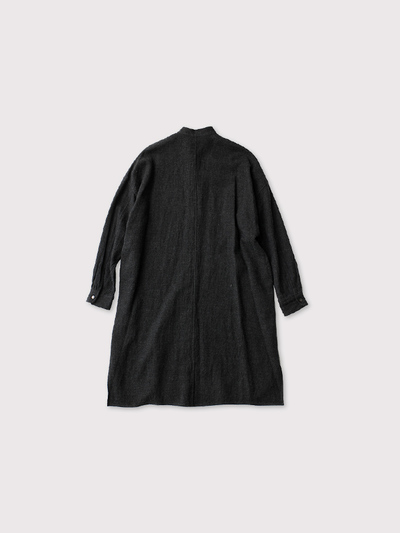 Stand collar shirt OOP long【SOLD】 2