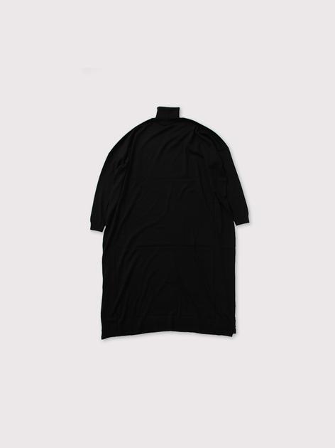 Turtle neck flat knit dress【SOLD】 3