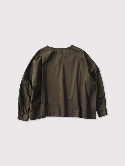 Shoulder Button Big Slip-On Blouse【SOLD】 3