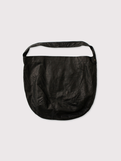 Round tote L~leather【SOLD】 1