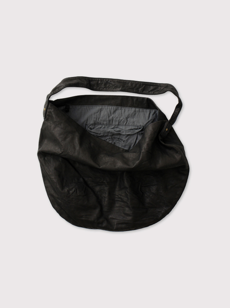 Round tote L~leather【SOLD】 2