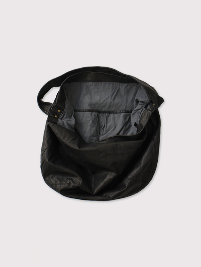 Round tote L~leather【SOLD】 3