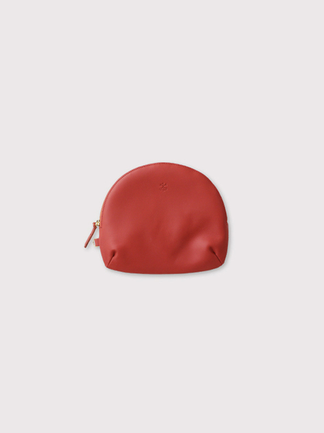Round pouch~cow leather 3