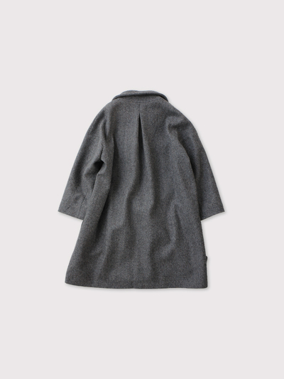 Back tuck granny coat 【SOLD】 3