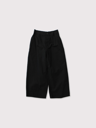 Back yoke gather pants 1