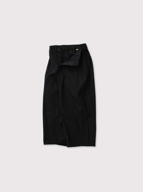 Back yoke gather pants 2