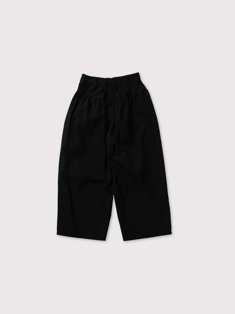 Back yoke gather pants 3