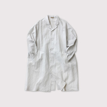 Open collar long shirt【SOLD】