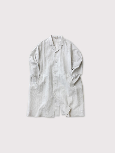Open collar long shirt【SOLD】 1