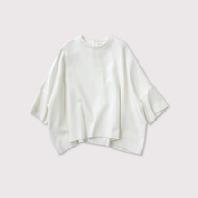 Short sleeve big slip-on blouse【SOLD】