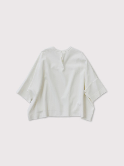 Short sleeve big slip-on blouse【SOLD】 3