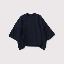 Short sleeve big slip-on blouse 【SOLD】